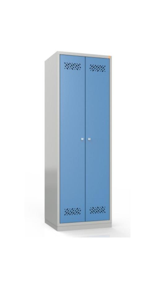 Szafa metalowa szkolna ubraniowa BHP/2/2MG