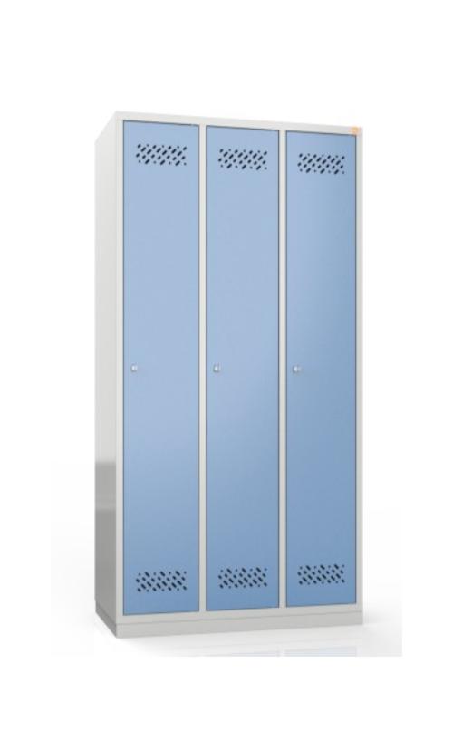 Szafa metalowa szkolna ubraniowa BHP/3/3MG