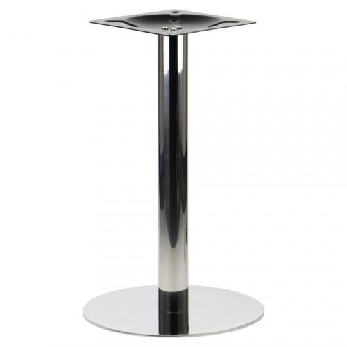 Podstawa do stolika EF-E68 żeliwna, czarna - wysokość 72 cm fi 43 cm