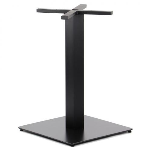 Podstawa do stolika EF-SH-5002-7/B, czarna - wysokość 73 cm 55x55 cm