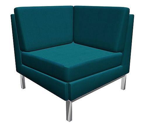 Sofa konferencyjna Platinium RE - element narożnikowy