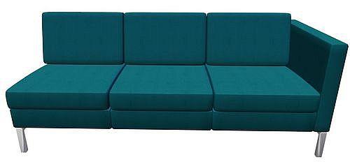 Sofa konferencyjna Platinium R33 OAL - element prosty