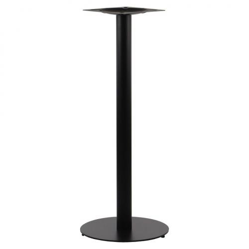 Podstawa do stolika EF-SH-5001-5/H/B czarna - wysokość 111 cm fi 45 cm