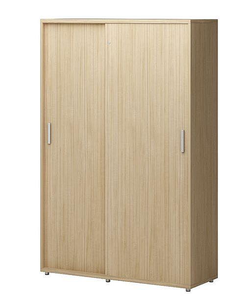 Szafa aktowo-ubraniowa - drzwi przesuwne TORO TS22