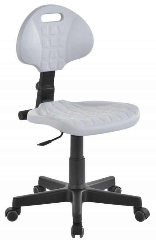 Krzesło laboratoryjne niskie - popiel