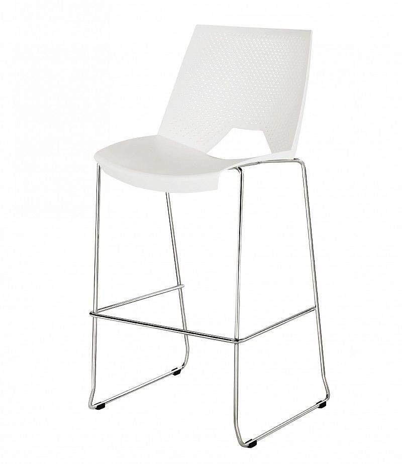 Krzesło hoker STRIKE H - płoza
