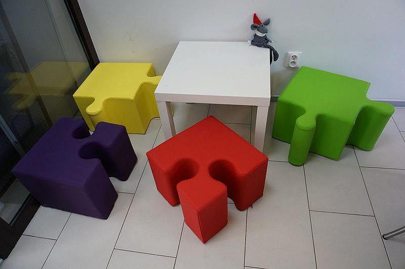 Pufa Puzzle 2 x PUZZLE A + 2 x PUZZLE B