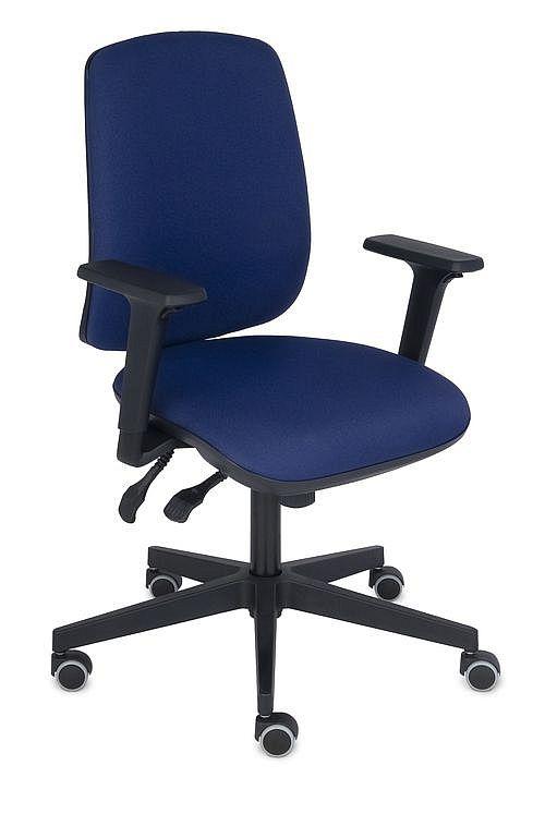 Krzesło obrotowe STARTER 3D Black