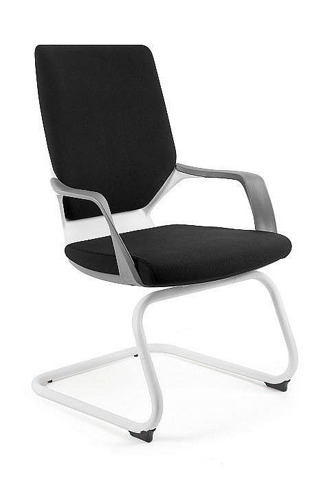 Krzesło konferencyjne Apollo Skid biały