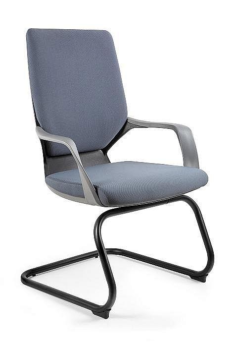 Krzesło konferencyjne Apollo Skid czarny