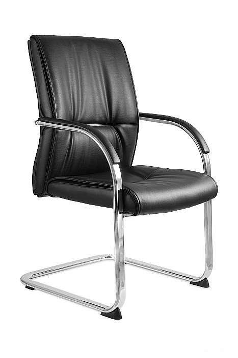Krzesło Konferencyjne Brando Skid eko-skóra