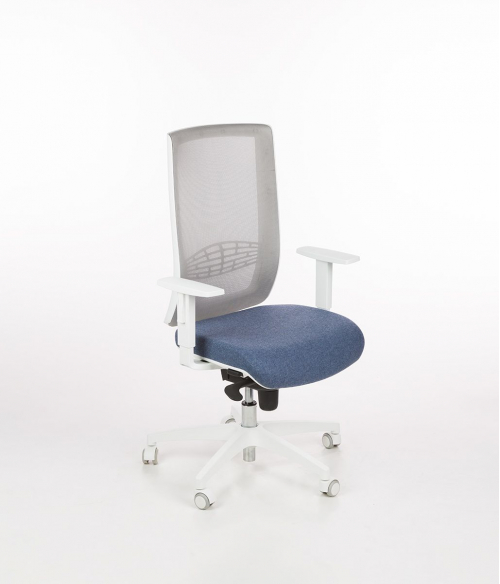 Fotel obrotowy BEGIN WAT-70-420 biały