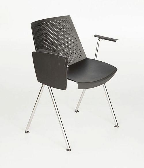 Krzesło konferencyjne STRIKE z pulpitem - na 4 nogach