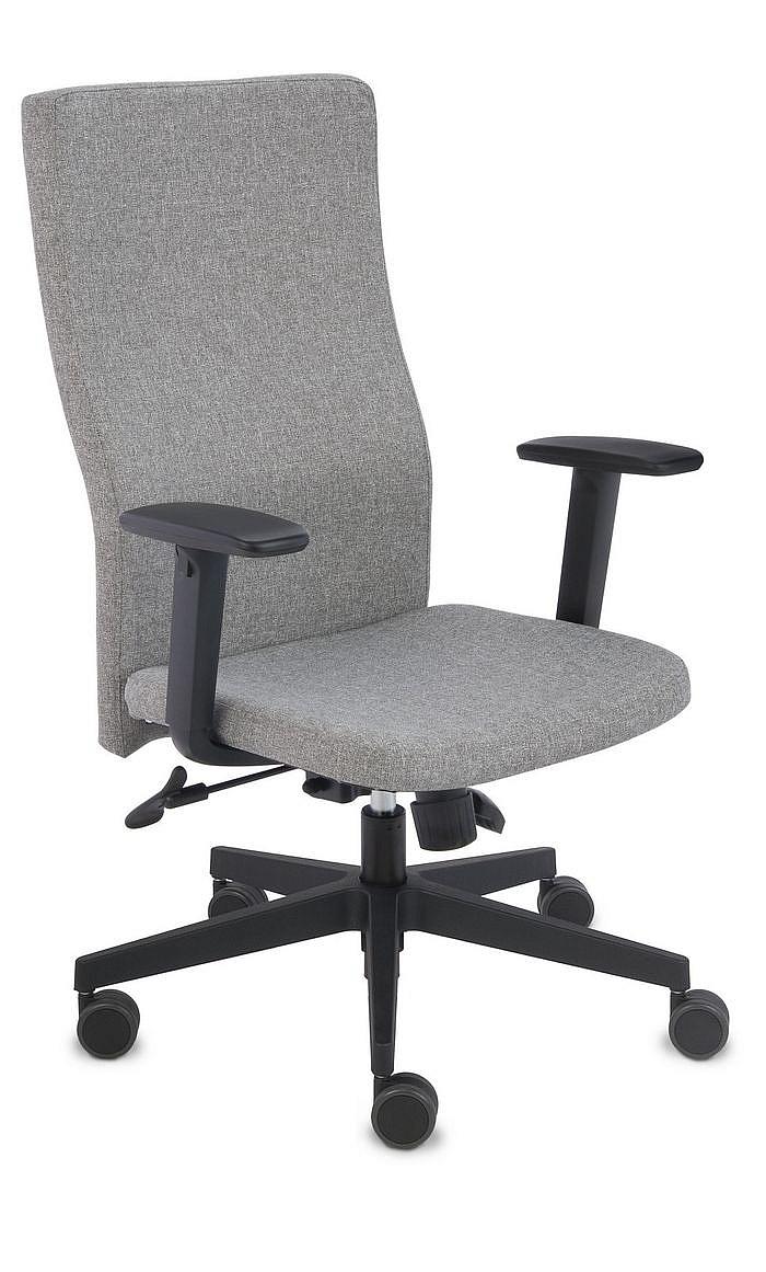 Fotel Biurowy obrotowy TEAM PLUS BLACK- różne tapicerki