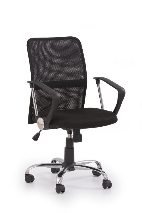 TONY fotel obrotowy czarny