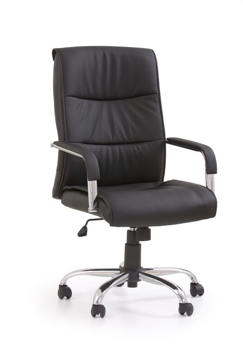 HAMILTON fotel gabinetowy czarny