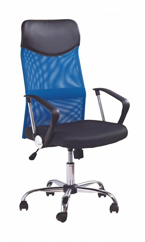 VIRE fotel obrotowy niebieski