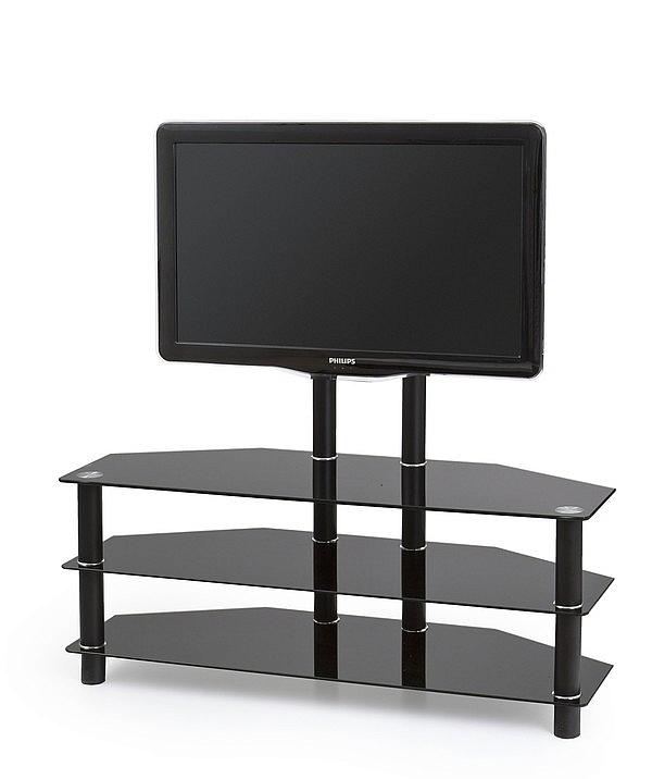 RTV20 stolik TV czarny (2p=1szt)