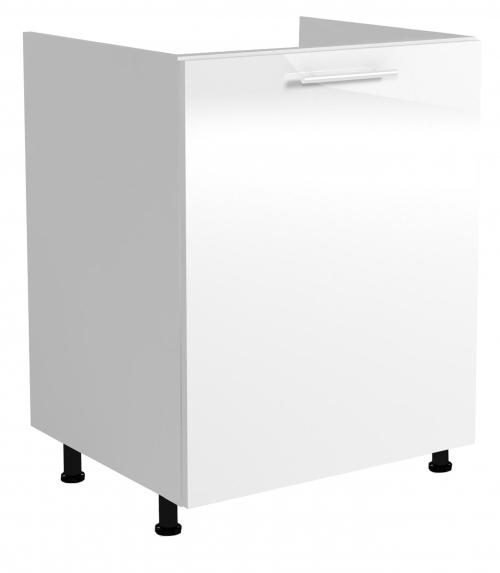 VENTO DK-60/82 szafka zlewozmywakowa front: biały