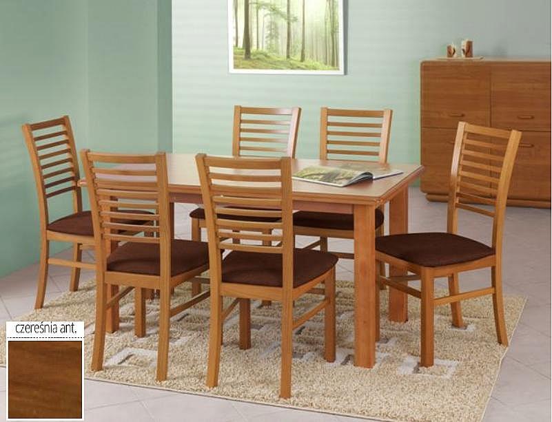 EMIL stół kolor czereśnia ant. (140-180x80x74 cm)