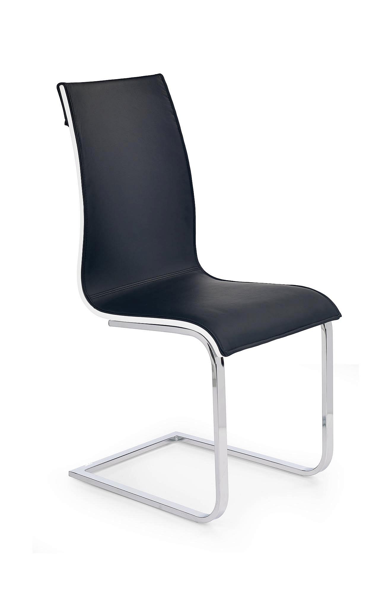 MATTEO czarny/biały krzesło (1p=2szt), PRESTIGE LINE