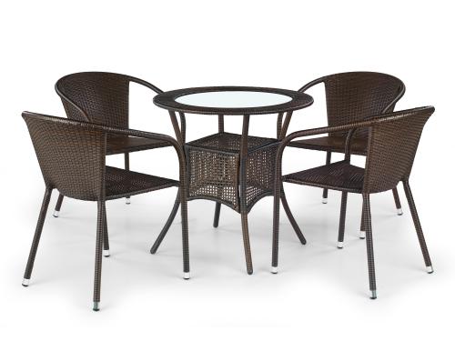 MIDAS stół ciemny brąz (2p=1szt)