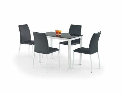 ARGUS stół czarny/biały (2p=1szt)