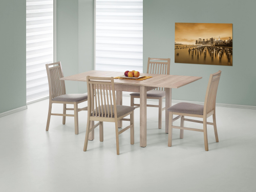Stół rozkładany GRACJAN kolor dąb sonoma