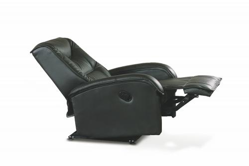JEFF fotel czarny ekoskóra