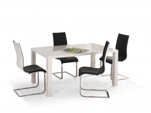 Stół rozkładany RONALD biały 120-160/80