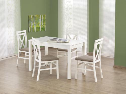 Stół KSAWERY w kolorze białym