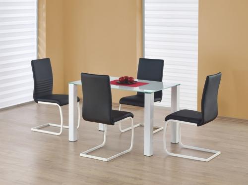 MERLOT PROSOTKĄT stół biały (2p=1szt)