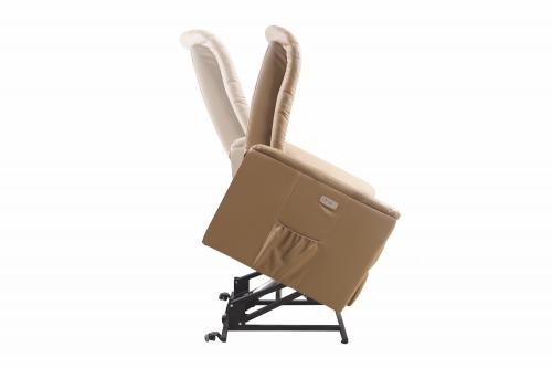 SENATOR recliner z funkcją masażu, podgrzewania oraz podnoszenia beżowy
