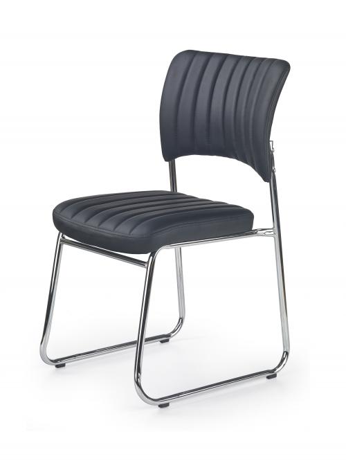 RAPID fotel pracowniczy/konferencyjny czarny (1p=6szt)