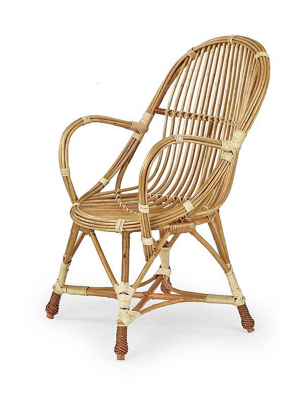 WICKER krzesło wiklinowe, kolor: naturalny (1p=1szt)