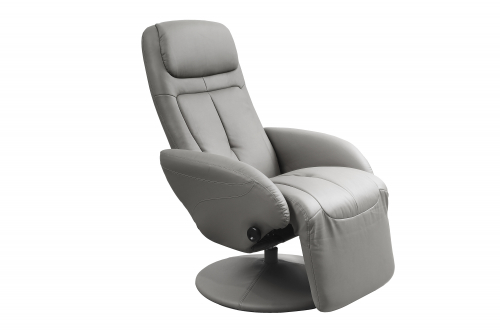 OPTIMA recliner, kolor: popielaty