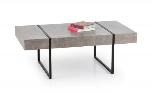 TIFFANY ława beton / czarny