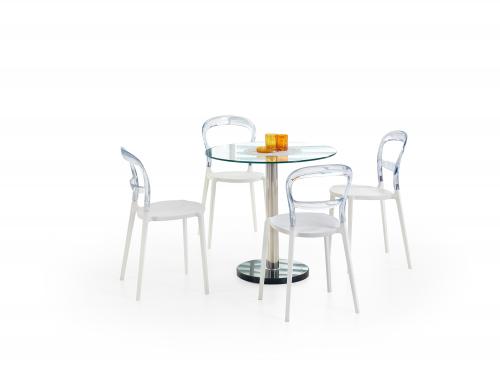 CYRYL stół bezbarwny (3p=1szt)