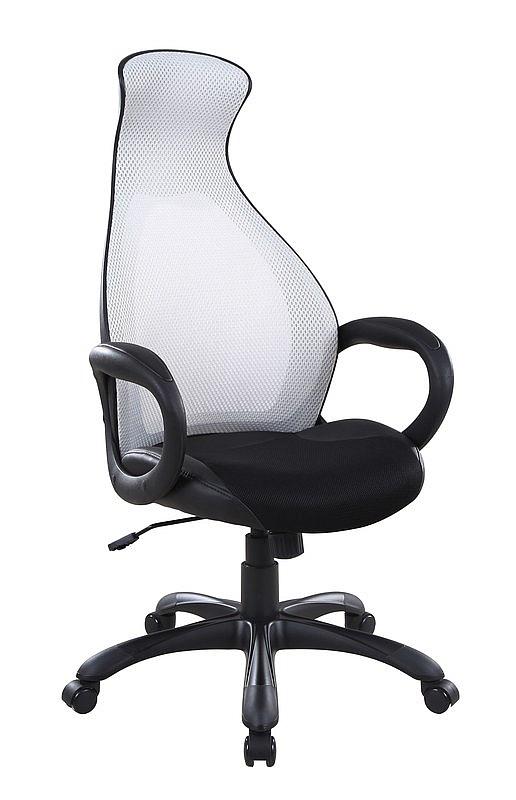 DOLPHIN fotel gabinetowy szaro-czarny